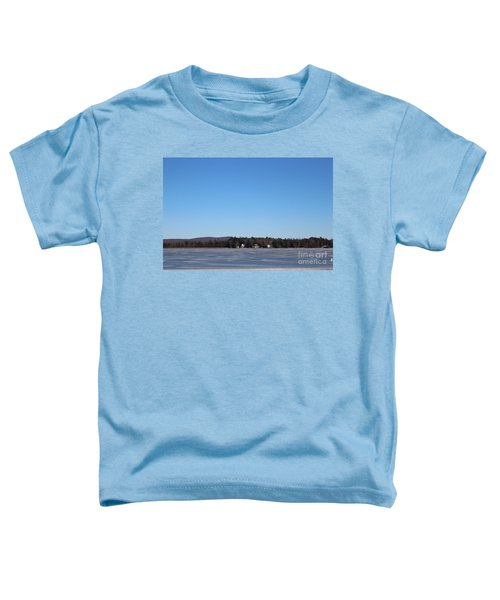 Poconos, The Lake In January Toddler T-Shirt