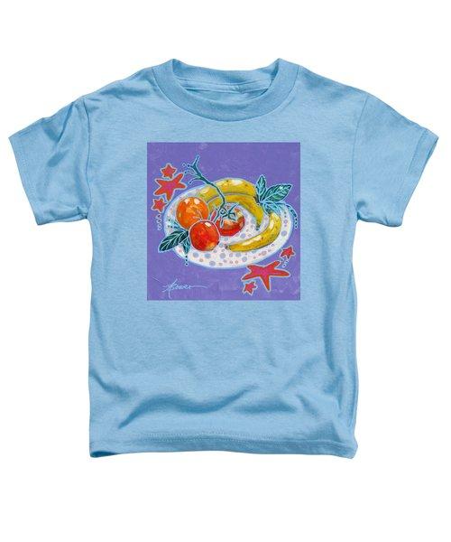 Polka-dot Plate  Toddler T-Shirt