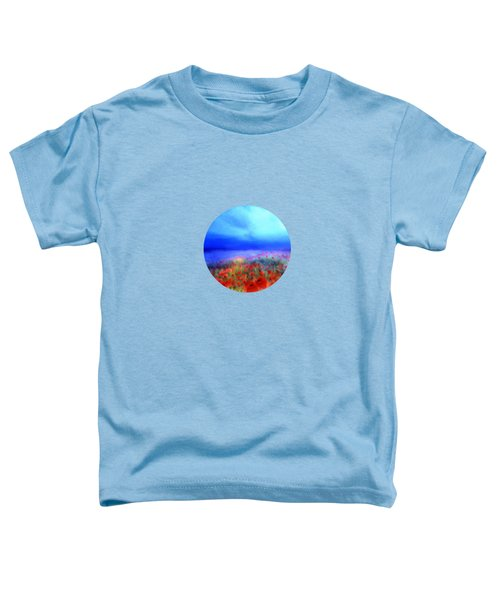 Poppies In The Mist Toddler T-Shirt