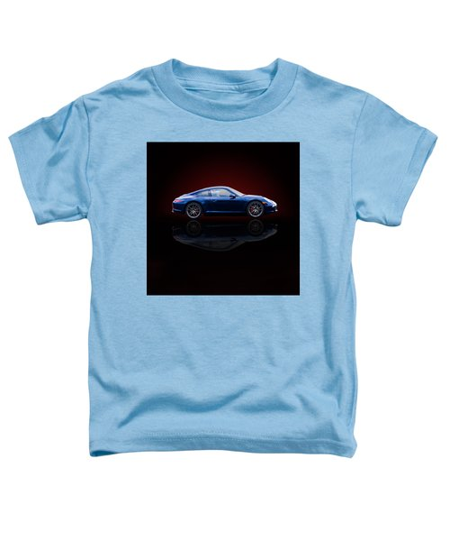 Porsche 911 Carrera - Blue Toddler T-Shirt