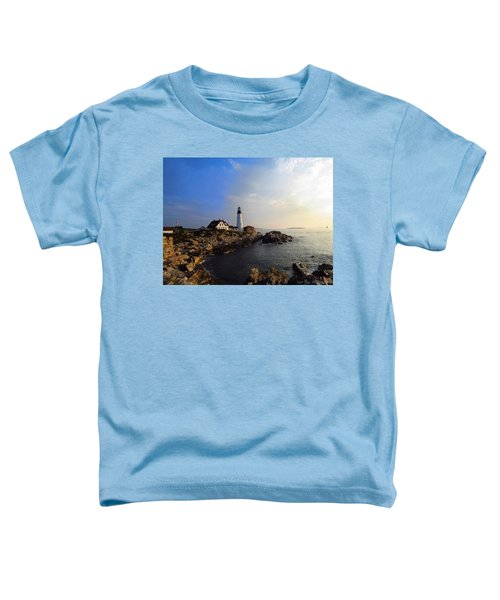 Portland Headlight Morning Glow Toddler T-Shirt
