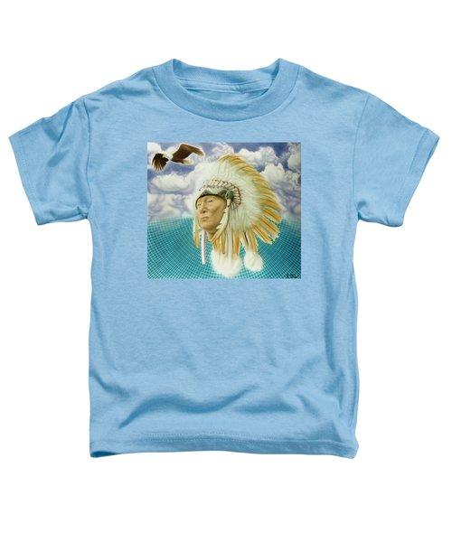 Proud As An Eagle Toddler T-Shirt