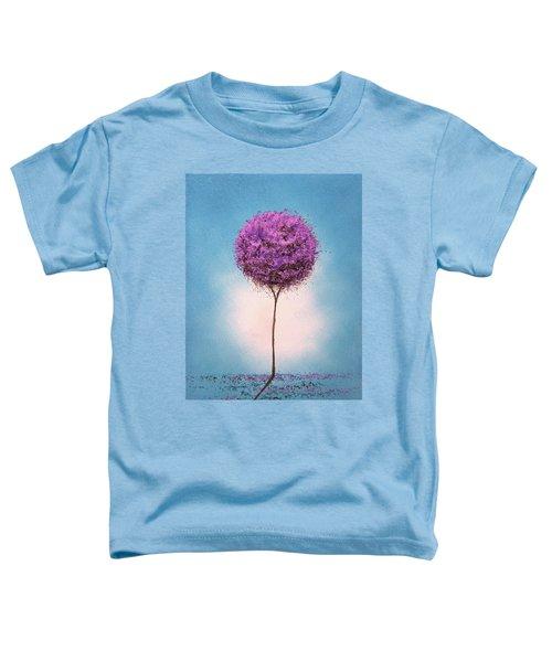 Purple Blossom Toddler T-Shirt