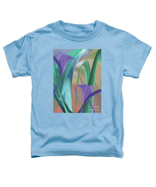 Purple Calla Lilies Toddler T-Shirt