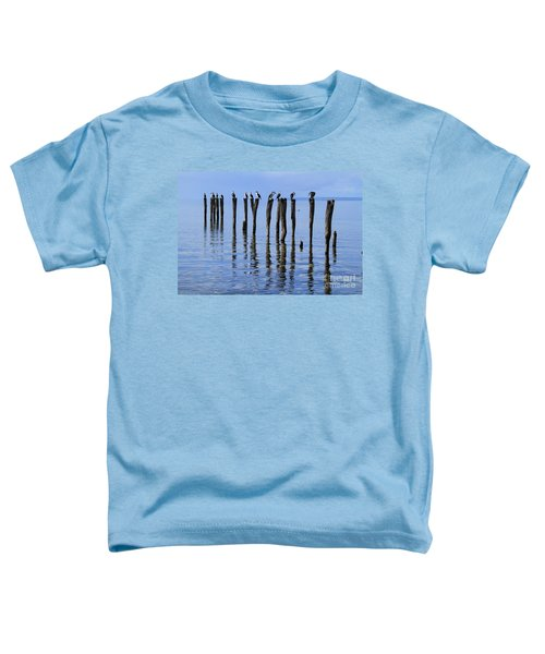Toddler T-Shirt featuring the photograph Quay Rest by Stephen Mitchell