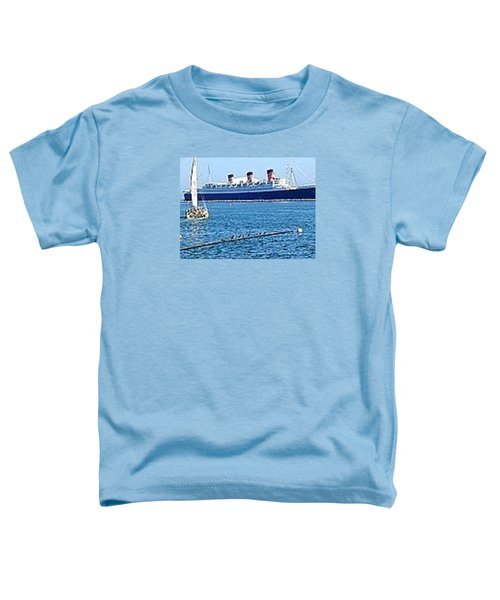 Queen Mary Toddler T-Shirt by James Knecht