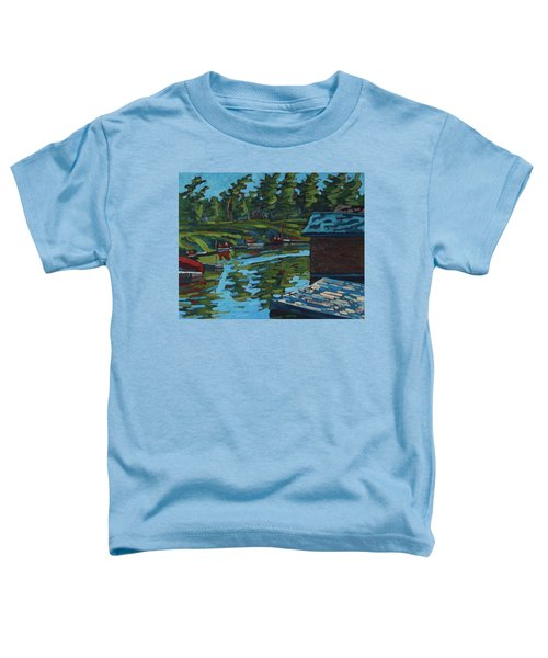 Quiet Morning At Chaffeys Toddler T-Shirt