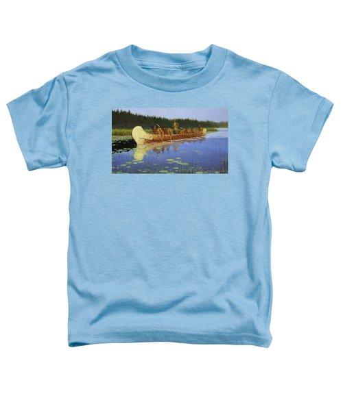 Radisson And Groseilliers Toddler T-Shirt