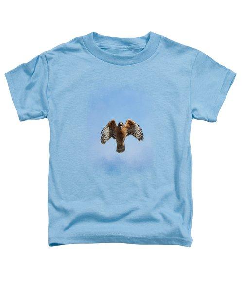 Raptor's Warning Toddler T-Shirt by Jai Johnson