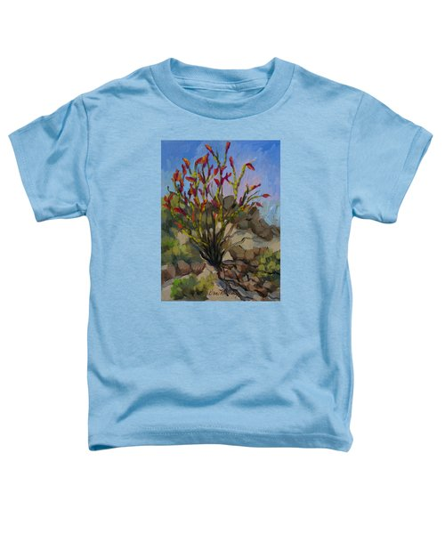 Red Flame Ocotillo 5 Toddler T-Shirt