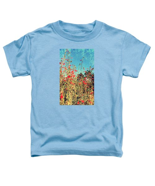 Red Trumpets Playing Toddler T-Shirt