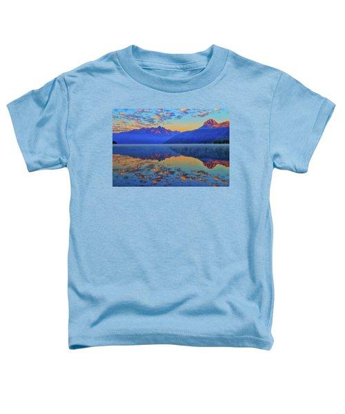 Redfish Lake Morning Reflections Toddler T-Shirt
