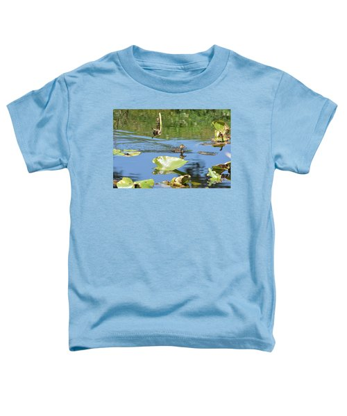 Reflection Of A Duckling Toddler T-Shirt