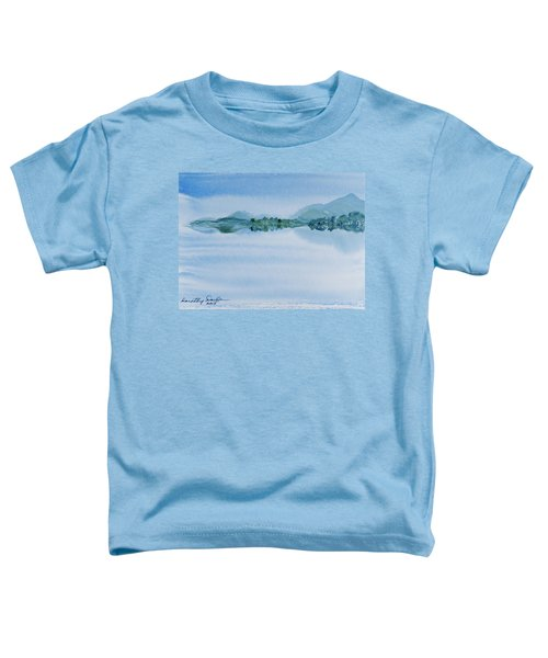 Reflection Of Mt Rugby In Bathurst Harbour Toddler T-Shirt