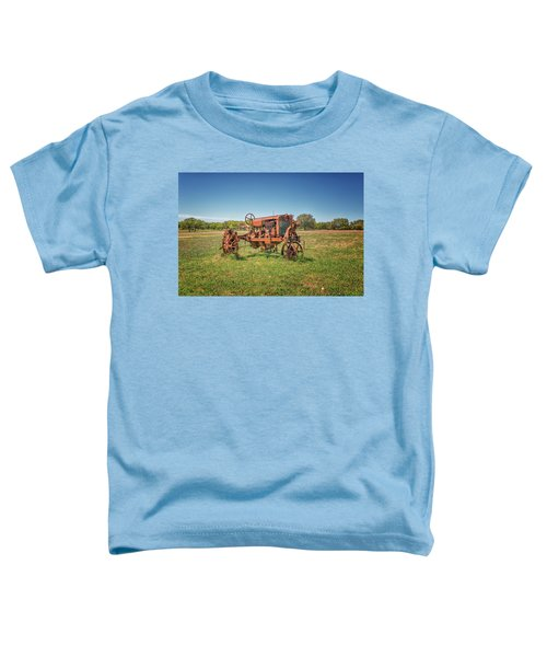 Retired Tractor Toddler T-Shirt