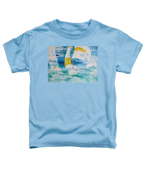 Riding The Wind Toddler T-Shirt