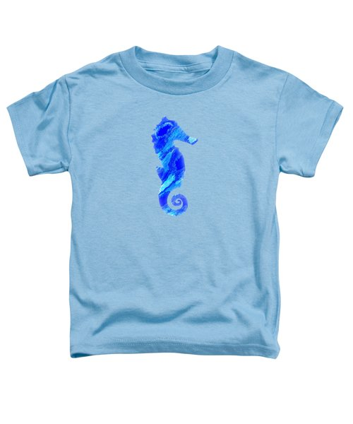 Right Facing Seahorse Bt Toddler T-Shirt
