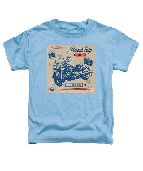Road Trip Toddler T-Shirt