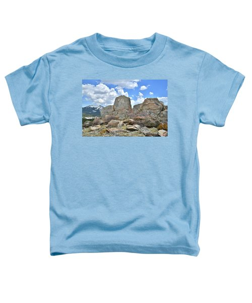 Rock Cropping At Big Horn Pass Toddler T-Shirt