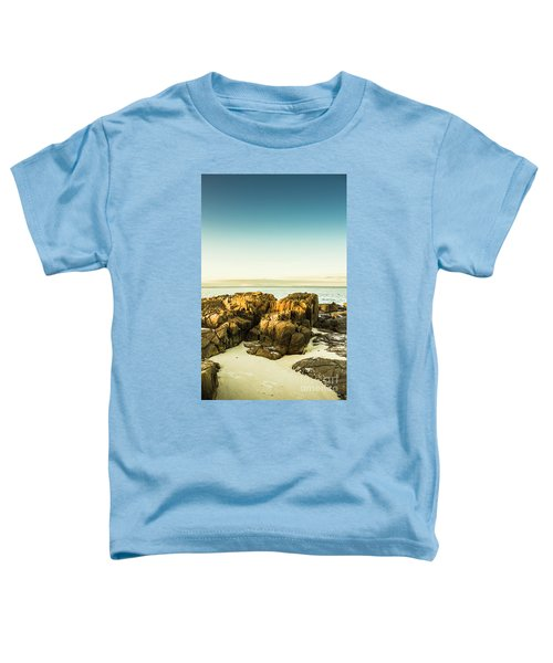 Rocky Oceanscape Toddler T-Shirt