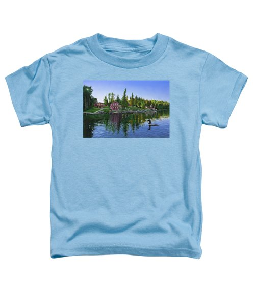 Rocky Shore Lodge Toddler T-Shirt