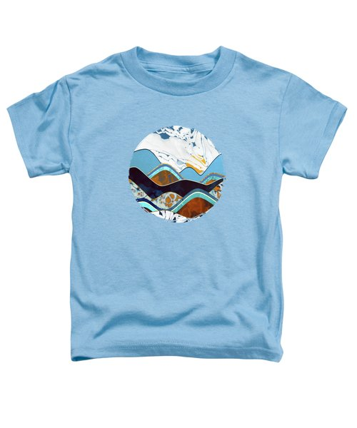 Rolling Hills Toddler T-Shirt by Spacefrog Designs