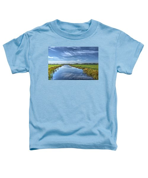 Royal Canal And Grasslands Toddler T-Shirt