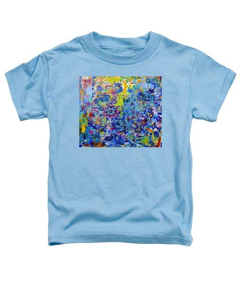 Rube Goldberg Abstract Toddler T-Shirt