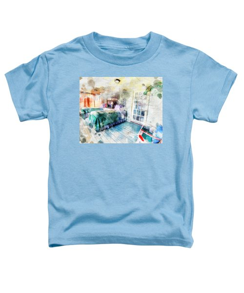 Rustic Look Bedroom Toddler T-Shirt