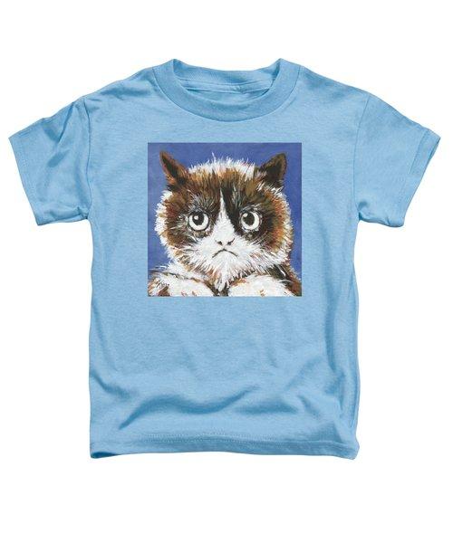 Sad Cat Toddler T-Shirt