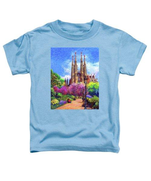 Sagrada Familia And Park Barcelona Toddler T-Shirt