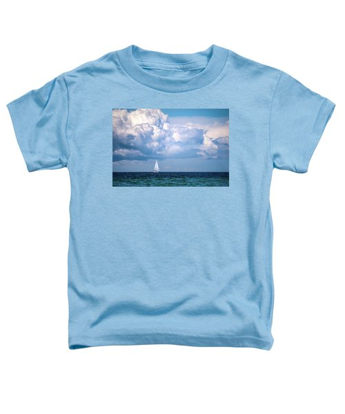 Sailing Under The Clouds Toddler T-Shirt