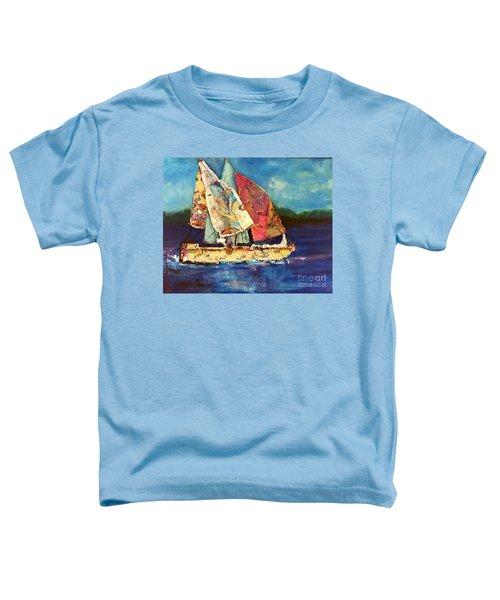 Sails Away Toddler T-Shirt