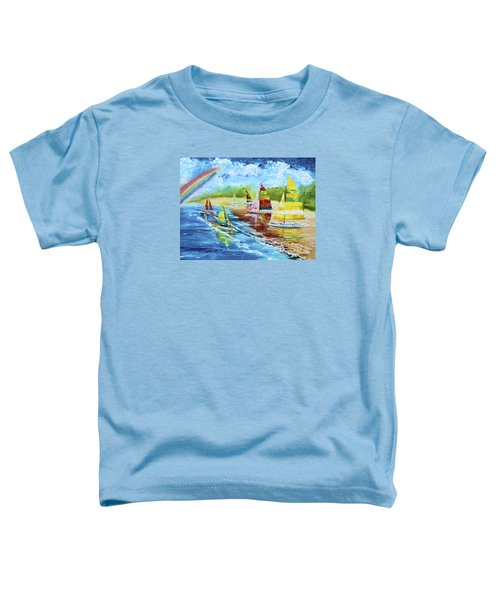 Sails On The Beach Toddler T-Shirt