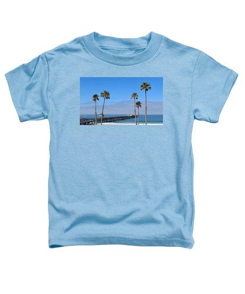 San Clemente Pier Toddler T-Shirt