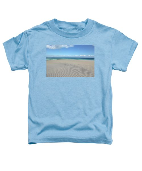 Sand Dune Ripples And The Ocean Beyond Toddler T-Shirt