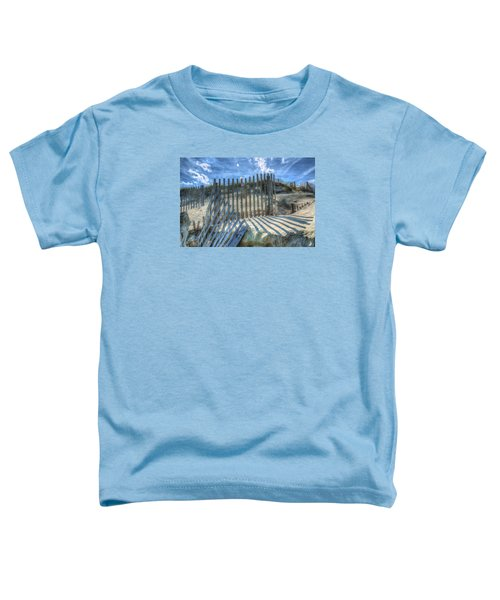 Sand Fence Toddler T-Shirt
