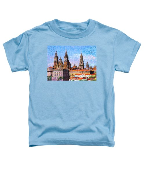 Santiago De Compostela, Cathedral, Spain Toddler T-Shirt