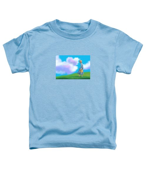 Sarah's Summer Stroll Toddler T-Shirt