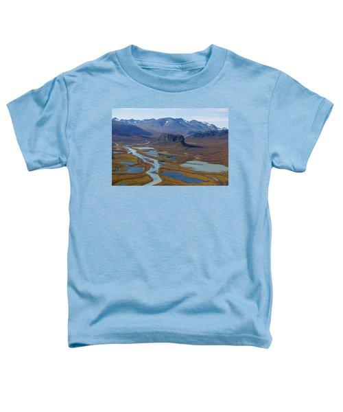 Sarek Nationalpark Toddler T-Shirt