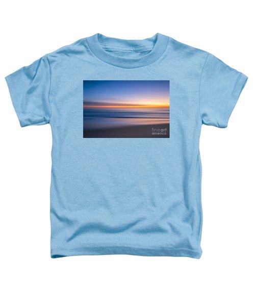 Sea Girt New Jersey Abstract Seascape Sunrise Toddler T-Shirt