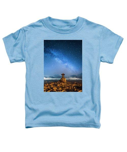 Sea Goddess Statue, Bali Toddler T-Shirt