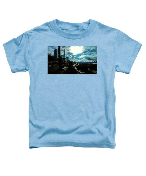 Sea Side, Seattle  Toddler T-Shirt