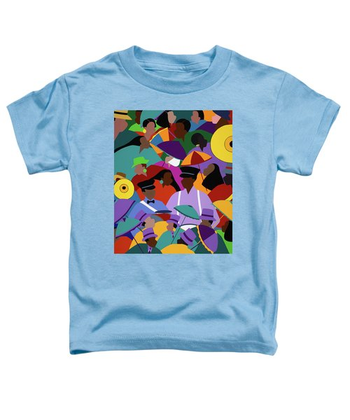 Second Line New Orleans Toddler T-Shirt