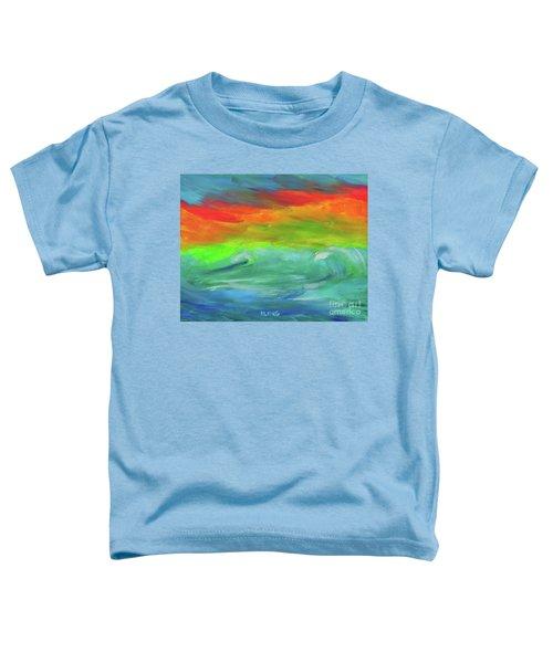 Serenity Sunrise  Toddler T-Shirt