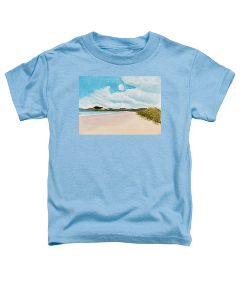Seven Mile Beach On A Calm, Sunny Day Toddler T-Shirt