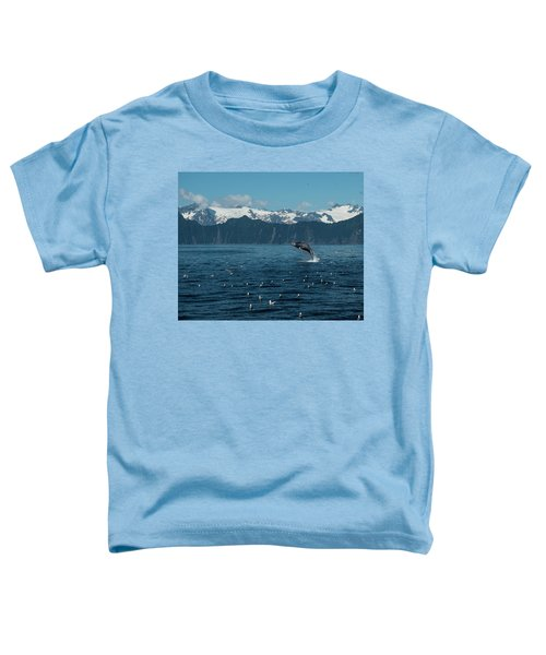 Seward Whale Breach Toddler T-Shirt