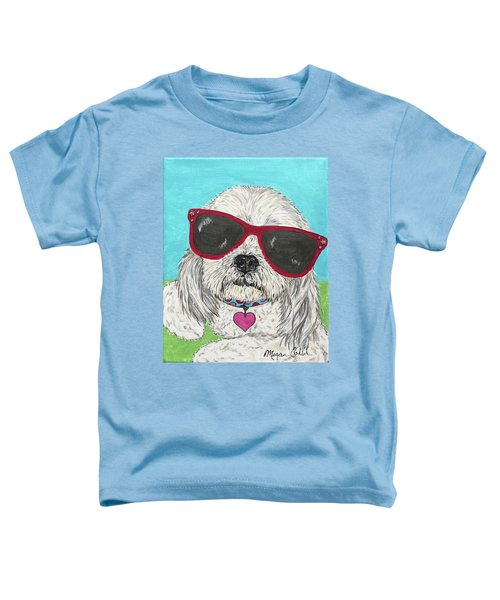Shih Tzu Diva Toddler T-Shirt