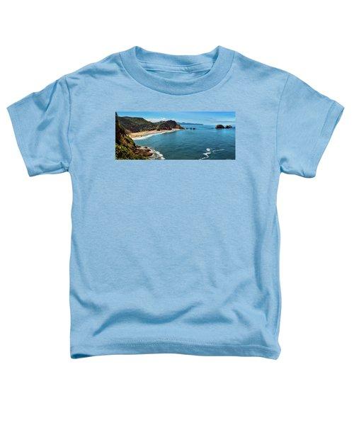 Short Beach, Oregon Toddler T-Shirt