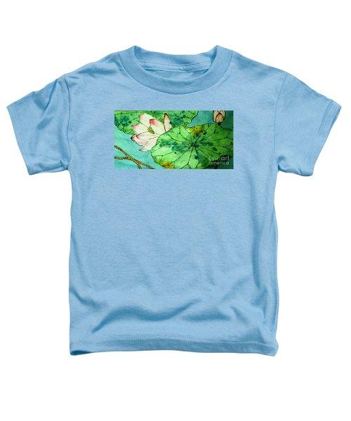 Shy Lotus Toddler T-Shirt
